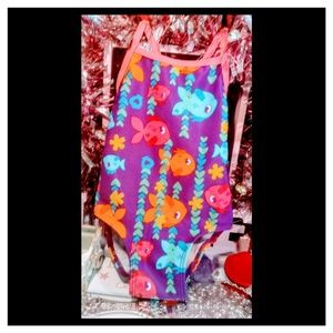 Other - Size 2T swimsuit girl's bathing suit fishies😊💕💞